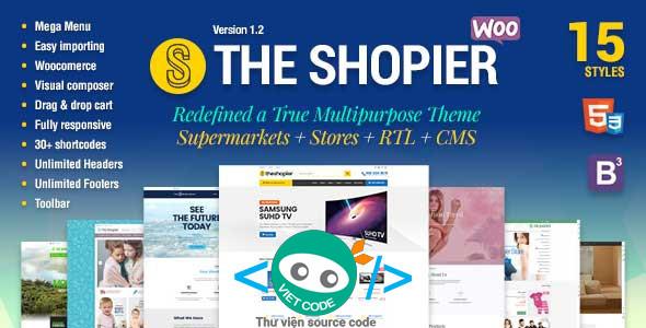 Chia sẻ Themes Shopier bán hàng chuyên nghiệp và đẹp Mắt bằng WordPress