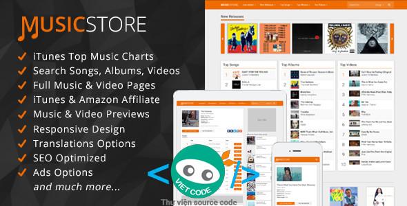 Source Code Website nghe nhạc Online và Bán bài hát
