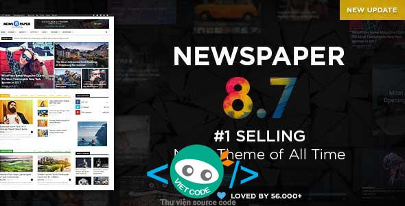 Chia sẻ Theme Newspaper Premium WordPress Full
