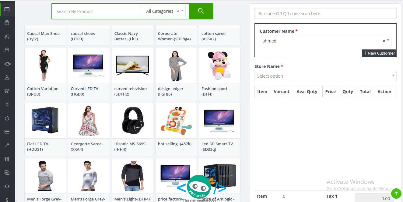 Source Code phần mềm quản lý bán hàng kết hợp Website hiển thị sản phẩm