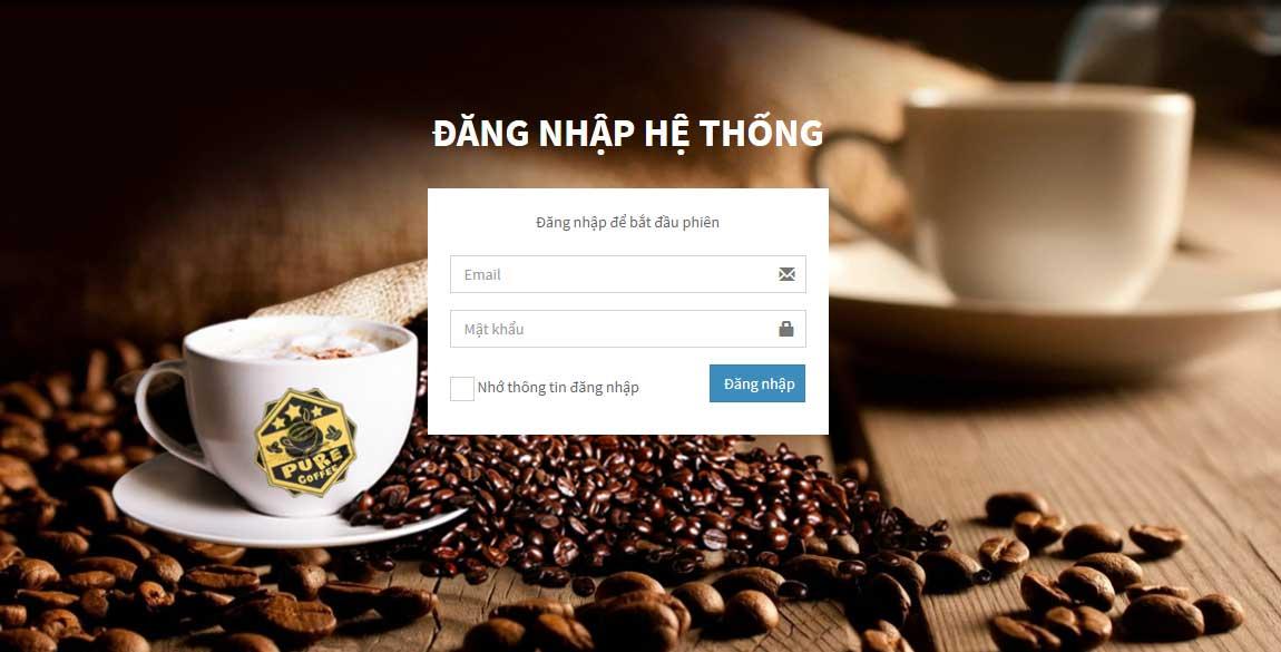 Source Code Website Quản lý quán cà phê và nhà hàng bằng PHP