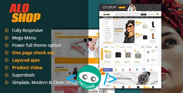 Share Theme Alo Shop WooCommerce WordPress