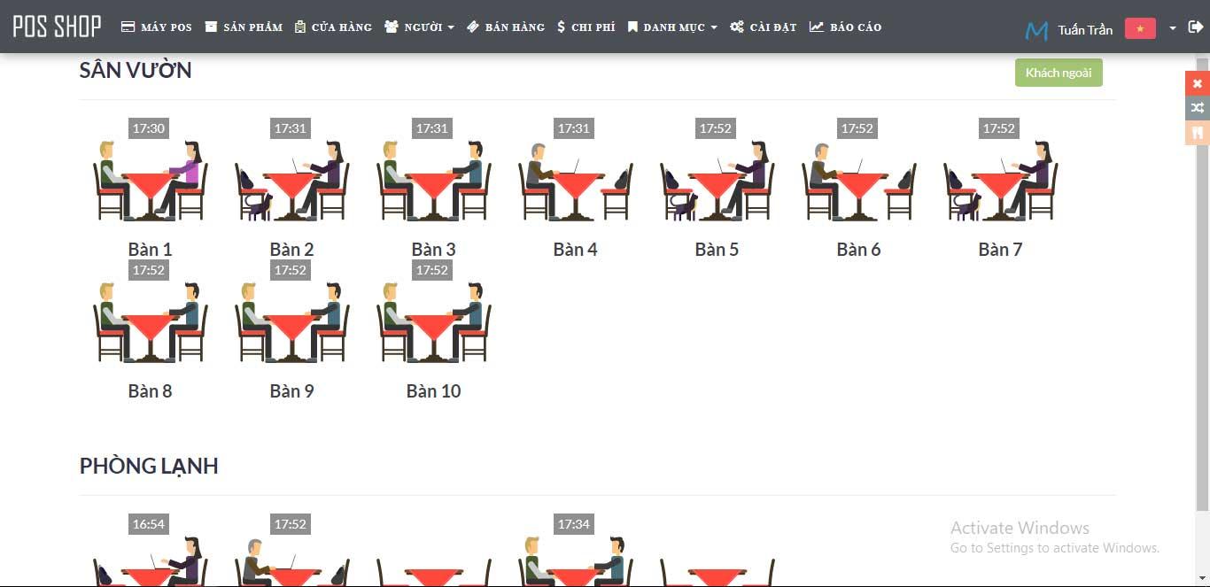 Phần mềm Quản Lý Quán Cà Phê bằng PHP MYSQL (Manager Cafe)