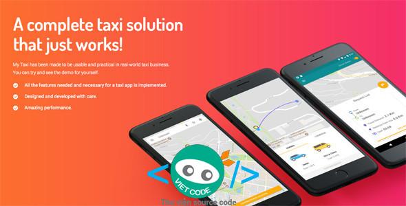 Source Code Ứng dụng gọi xe đầy đủ chức năng bằng Android + Trang quản trị
