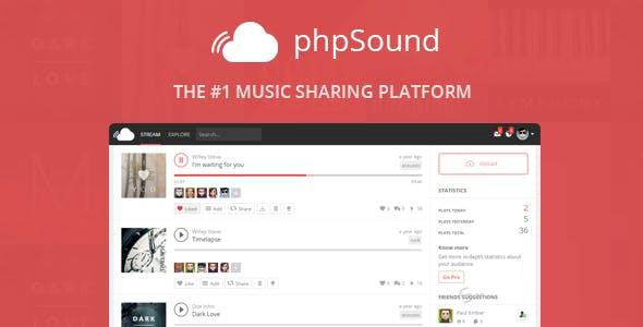 Source code chia sẻ âm nhạc SoundCloud bằng PHP